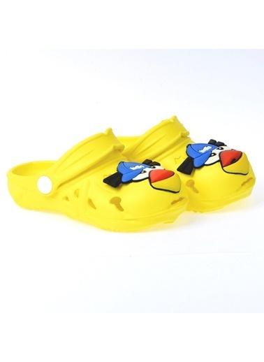 Kiko Kids Kiko Akn E109.000 Plaj Havuz Banyo Kız/Erkek Çocuk Terlik Sarı